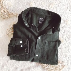 H&M Long Sleeve Button Down
